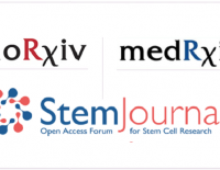 StemRxiv news preprint submission BioRxiv MedRxiv (StemJournal, stem cells)