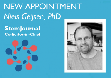 StemJournal new co-Editor-in-Chief Niels Geijsen Press Release