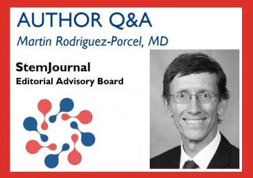 Martin Rodriguez-Porcel Author Q&A Imaging of Stem Cells (StemJournal)