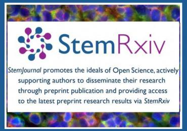 StemRxiv on StemJournal website (preprints for stem cell research)