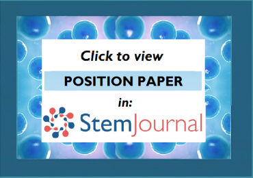 New content in StemJournal: Position Paper (open access forum for stem cell research)