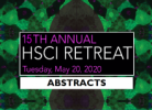 HSCI2020 Abstracts in StemMeets on the StemJournal website (open access forum for stem cell research)