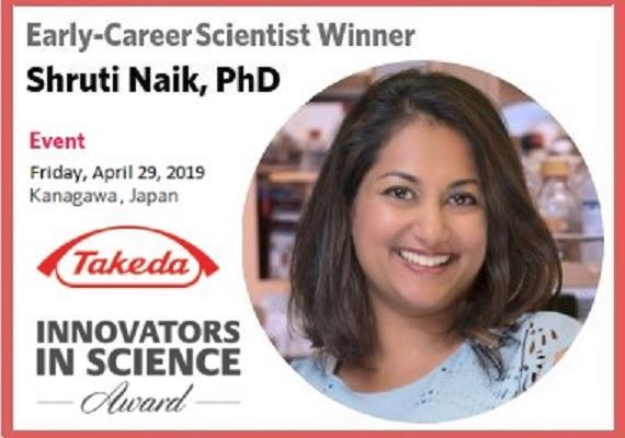 Editorial Board Member Receives 2019 Innovator in Science